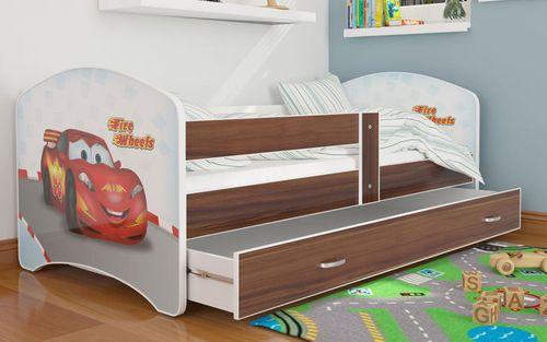 Łóżko 160x80 LUCKY szuflada + materac na Arena.pl