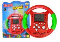Gra Elektroniczna Bricks Kierownica Czerwona