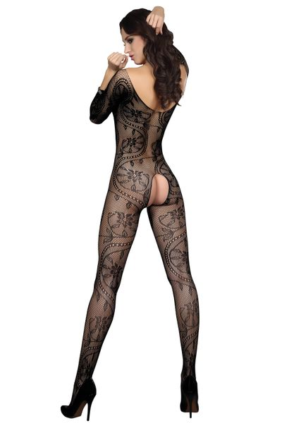 Sexy Bodystocking Erotyczny Kombinezon z siatki Kabaretki rozm S-L zdjęcie 2