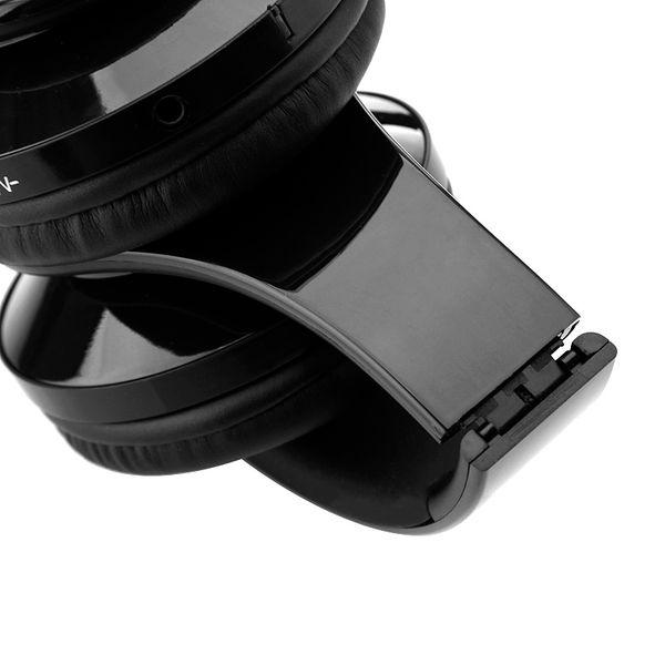 Słuchawki BEZPRZEWODOWE nauszne BLUETOOTH mikrofon CZARNE zdjęcie 5