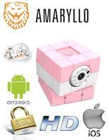 Kamera obrotowa AMARYLLO iBabi niania interkom dla dziecka na smartfona dwukierunkowe audio