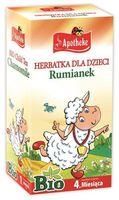Apotheke Herbatka Dla Dzieci Rumianek BIO 20 x 1 g