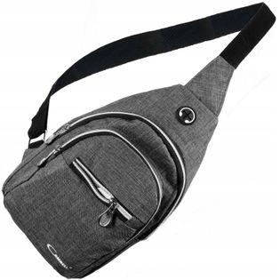 Duża męska saszetka nerka przez ramię torba plecak
