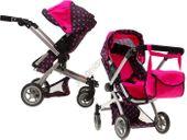 Wózek dla Lalki WIELOFUNKCYJNY 4 w 1