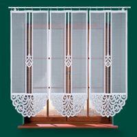 Panel żakardowy ZURIEL - 160x60cm - biały