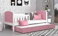 Łóżko TAMI P2 COLOR 190x80 wysuwane + materace