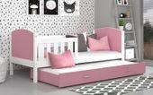 Łóżko TAMI P2 COLOR 198x86 wysuwane + szuflada + materace