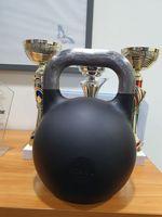 kettelbell turniejowy nowy czarny 6,7 kg