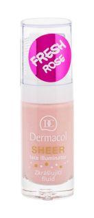 Dermacol Sheer Face Illuminator Baza pod makijaż 15ml fresh rose