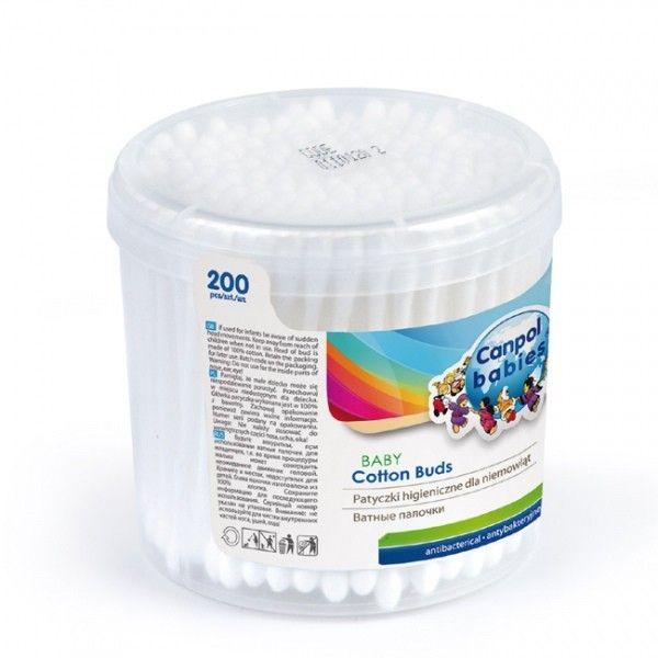 Canpol Patyczki higieniczne 200 sztuk zdjęcie 1