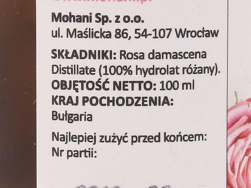 Hydrolat odmładzający Róża - Mohani - 100 ml zdjęcie 2