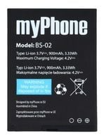 ORYGINALNA Bateria MyPhone HALO2 1075 BS-02 900mAh