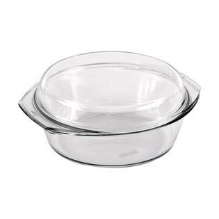 Naczynie żaroodporne / brytfanna szklana 1,5L+0,6L