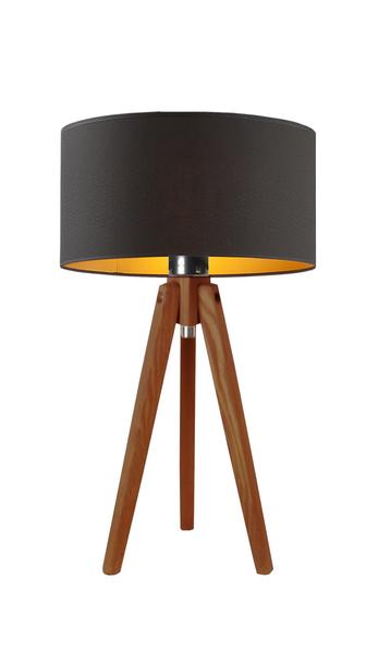 Lampa stolikowa SABA czarny ze złotym wnętrzem zdjęcie 2