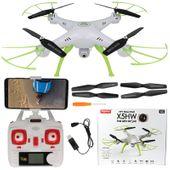 Dron Syma X5HW kamera Wi-Fi funkcja zawisu Biały Y142B