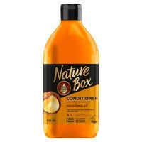 Nature Box   Odżywka Do Włosów Puszących Się-  Z Olejem Makadamia 385 Ml