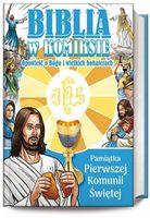 Biblia komiks pierwsza komunia święta młodzież hit
