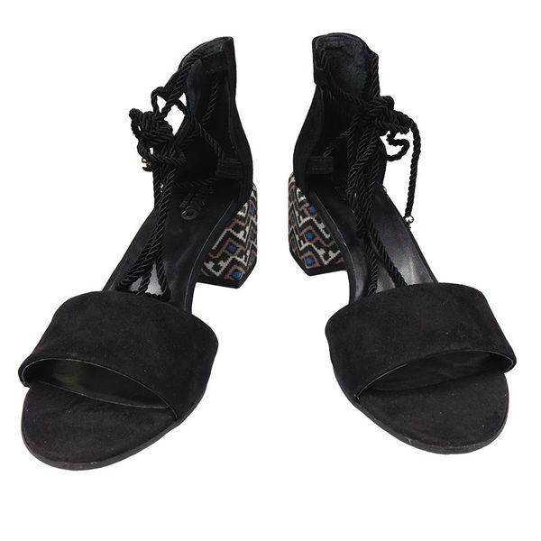 7be92bcd Sandały Ryłko 5DFF0 czarny Rozmiar obuwia - 37, Kolor - Czarny zdjęcie 3