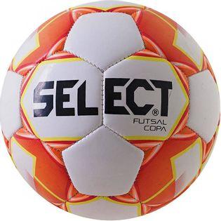 Piłka nożna Select Futsal Copa 2018 Hala 4 biało-pomarańczowa 14318