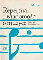 Repertuar i wiadomości o muzyce Maria Wacholc