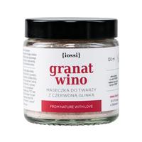 Granat Wino - Maska ujędrniająco-oczyszczająca Iossi