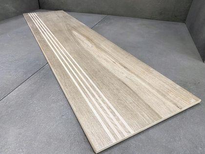 Płytki drewnopodobne na schody, stopnice 100x30