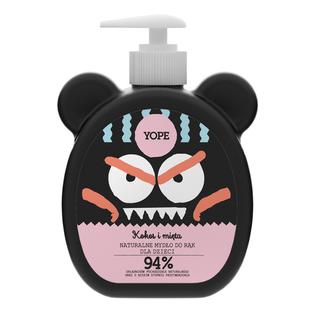 YOPE naturalne mydło do rąk dla dzieci kokos i mięta 400ml