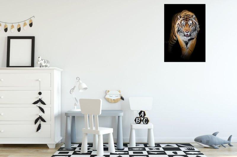 Obraz Na Ścianę 50X70 Tygrys Tygrys Zwierzę zdjęcie 3