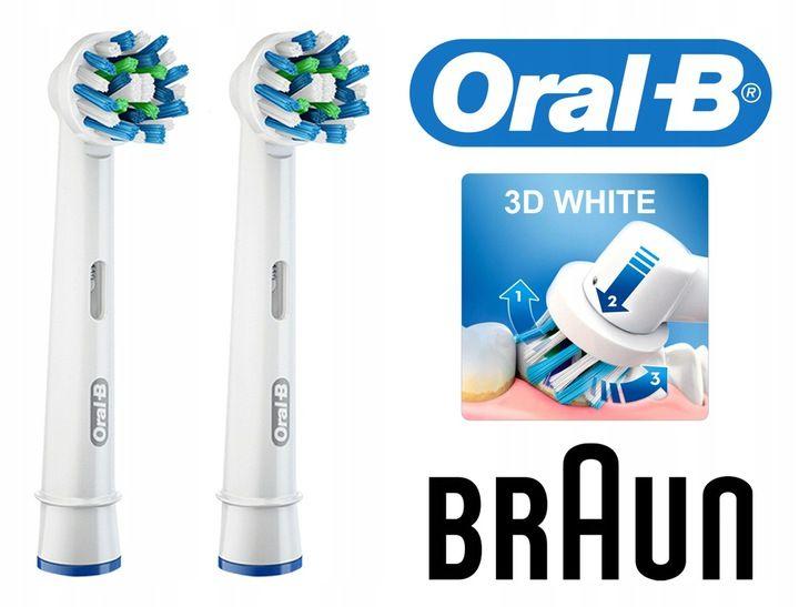 Szczoteczki elektryczne BRAUN ORAL-B PRO 690 CROSS 2 sztuki na Arena.pl