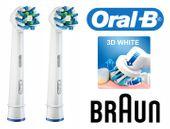 Szczoteczki elektryczne BRAUN ORAL-B PRO 690 CROSS 2 sztuki zdjęcie 2