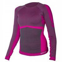 Damska koszulka bluza termoaktywna Brugi 2RAK różowa rozmiar L/XL