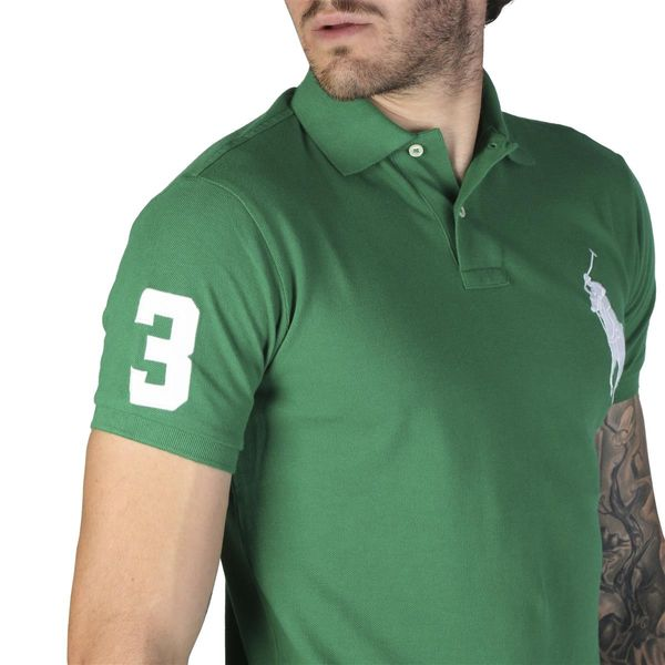 7c3bb98713ce76 Ralph Lauren męska koszulka polo zielony L • Arena.pl