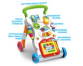 Jeździk chodzik pchacz edukacyjny 3w1 interaktywny Y15 zdjęcie 8