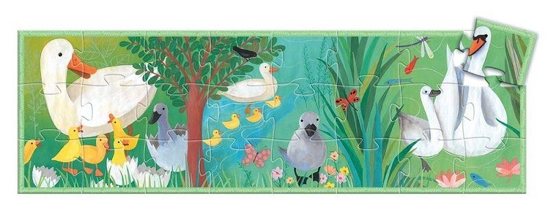 BRZYDKIE KACZĄTKO puzzle w kartoniku 24 el DJECO zdjęcie 3