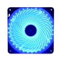 podświetlany wentylator 14cm 33x LED niebieski