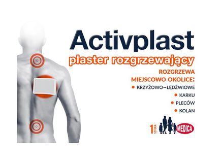 Plastry Activplast rozgrzewający zamiennik FastPlaST