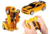 Transformer auto robot 2w1 Bumblebee zdalnie sterowany RC 2.4GHz U20 zdjęcie 13