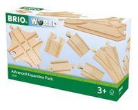 BRIO World Zestaw Do Rozbudowy Rozjazdy