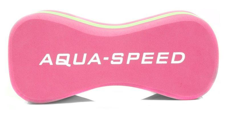 """Deska do pływania ÓSEMKA """"3"""" JUNIOR Kolor - Akcesoria - Ósemka """"3"""" Junior - 03 - różowy / zielony zdjęcie 4"""