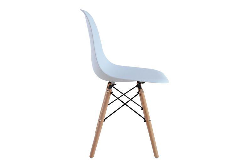 Krzesło Do Kuchni Salonu Retro Design Białe White