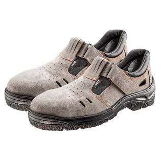 Sandały robocze S1 SRC, zamszowe, rozmiar 37