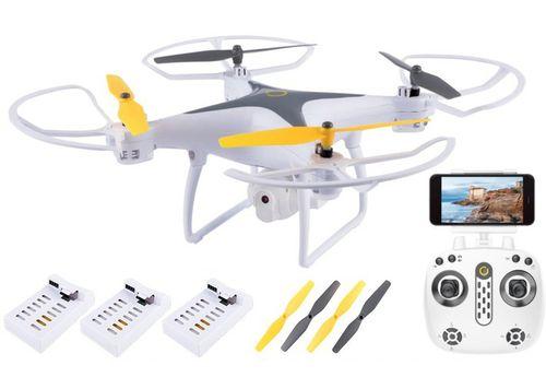 DRON OVERMAX Dron  WiFi FUNKCJA ZAWISU AUTO POWRÓT KAMERA na Arena.pl