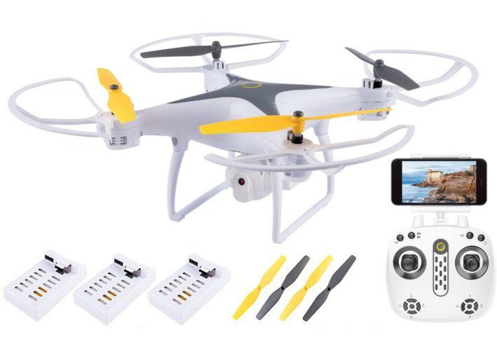 DRON OVERMAX Dron  WiFi FUNKCJA ZAWISU AUTO POWRÓT KAMERA zdjęcie 1