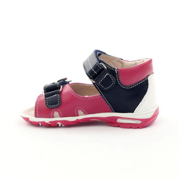 Sandałki dziewczęce motyl Bartuś różowe r.21 zdjęcie 3