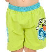 Szorty pływackie SURF-CLUB Kolor - Stroje męskie - Surf-club - 04 - zielony, Rozmiar - Stroje dziecięce - 116 (5A) zdjęcie 4