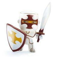DJECO Figurka Rycerz Silver metalic Arty Toys