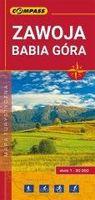 Mapa turystyczna - Zawoja, Babia Góra 1:30 000 praca zbiorowa