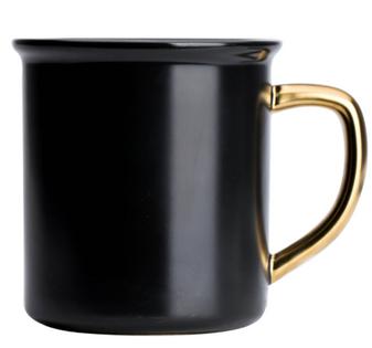 KUBEK - BLACK 500 ml - 1 szt - Home Decor