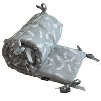 Ochraniacz Do Łóżeczka 60x120cm - Feathers Lanila wyprawka dla dziecka