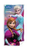 Ręcznik dziecięcy 70x140 Kąpielowy Plażowy Kraina Lodu Frozen Elsa Ann
